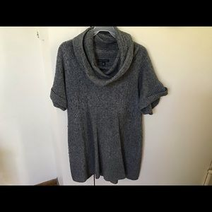 Sweater dress (tunic) - grey